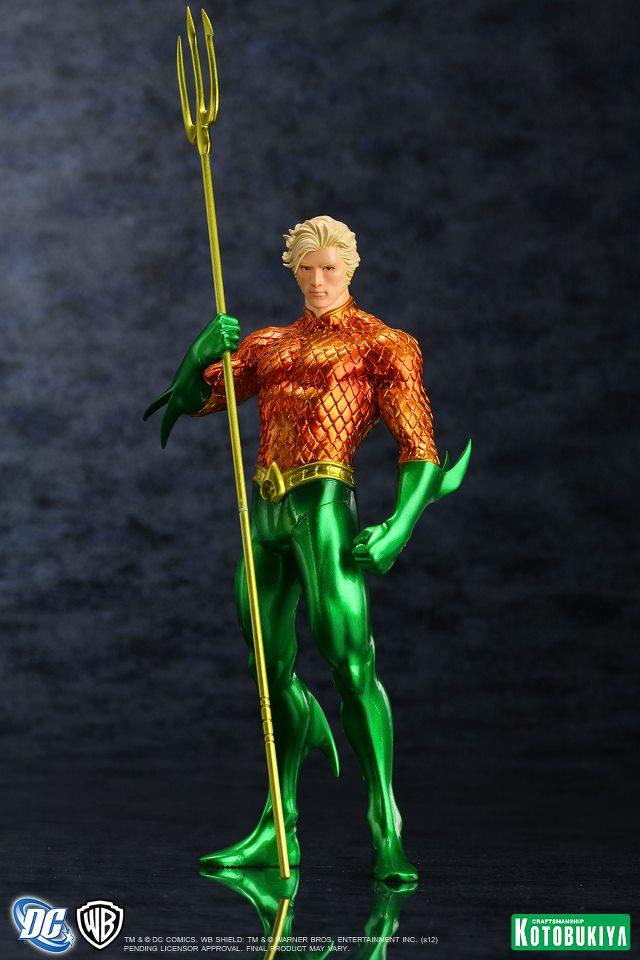 Kotobukiya ARTFX - Aquaman New52 0001
