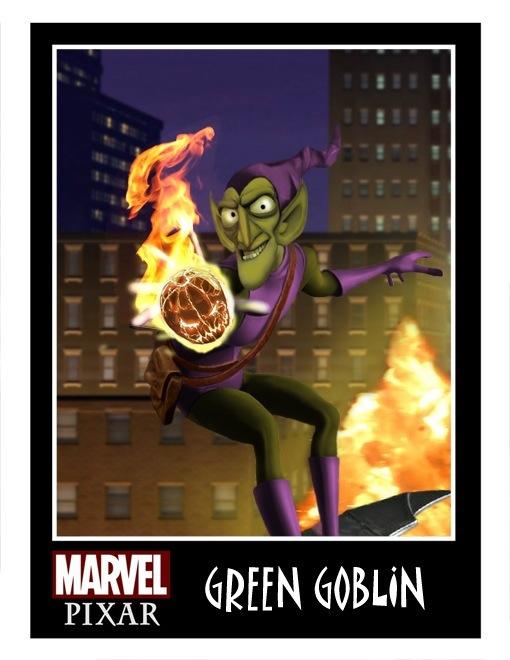 Pixar Green Goblin