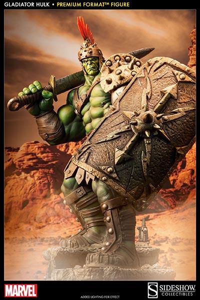Sideshow Premium Format - Hulk Gladiator 0001