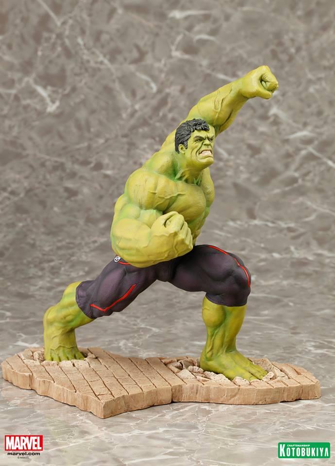 Kotobukiya ARTFX - Hulk AoU 0002