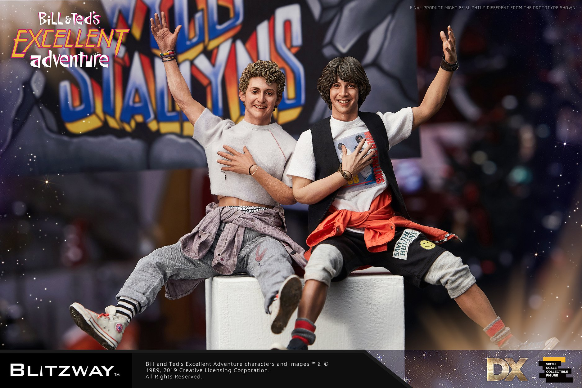 Blitzway Bill & Ted's Excellent Adventure Sixth Scale Figure Set