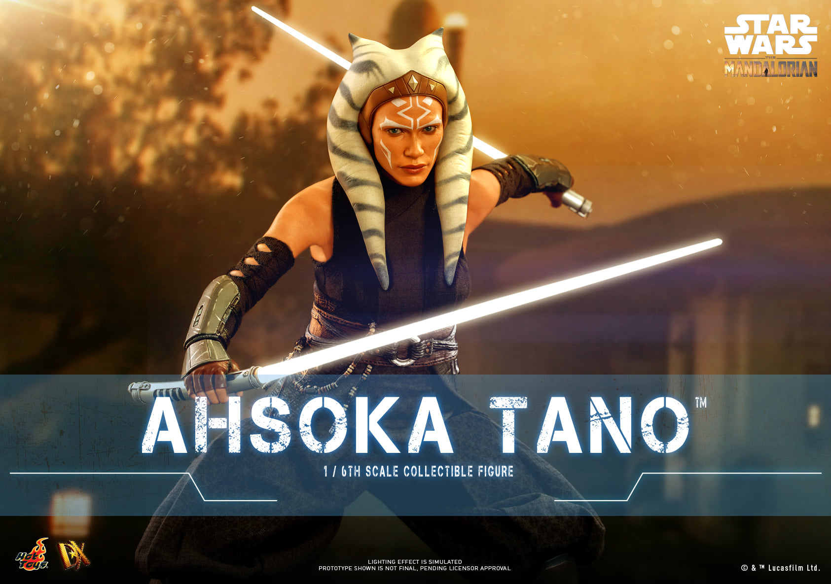 Pre-Order Hot Toys Star Wars The Mandalorian Ahsoka Tano Figure