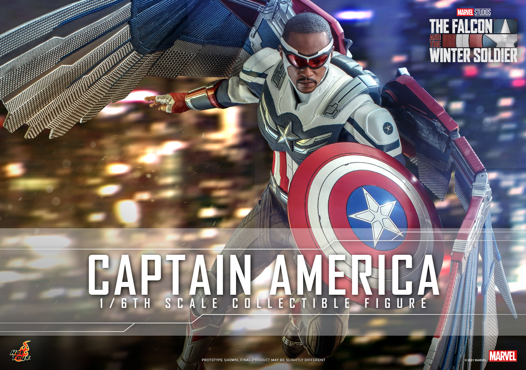 Pre-Order Hot Toys Marvel Captain America Sixth Scale Figure
