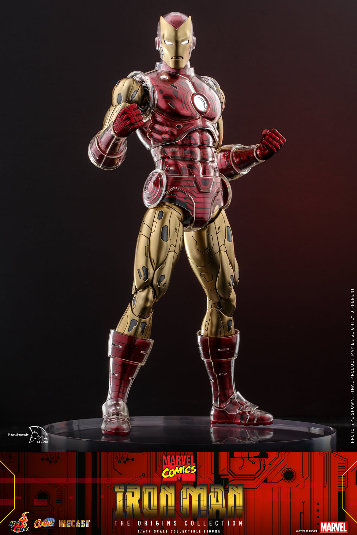 Pre-Order Hot Toys Marvel Iron Man Origins Diecast Figure