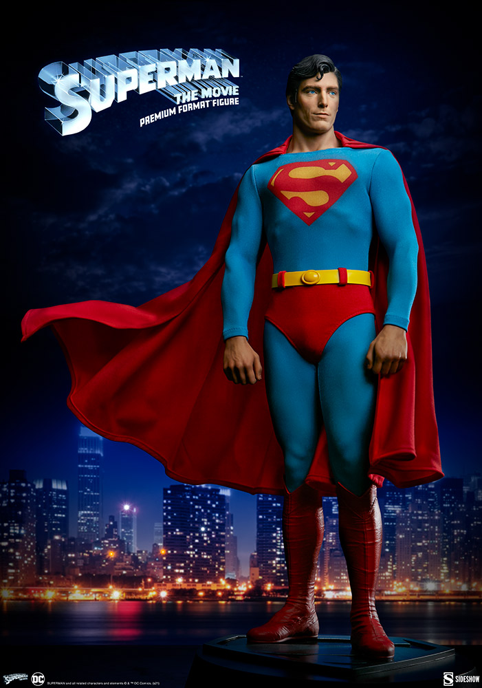 Pre-Order Sideshow DC Comics Superman The Movie Premium Format