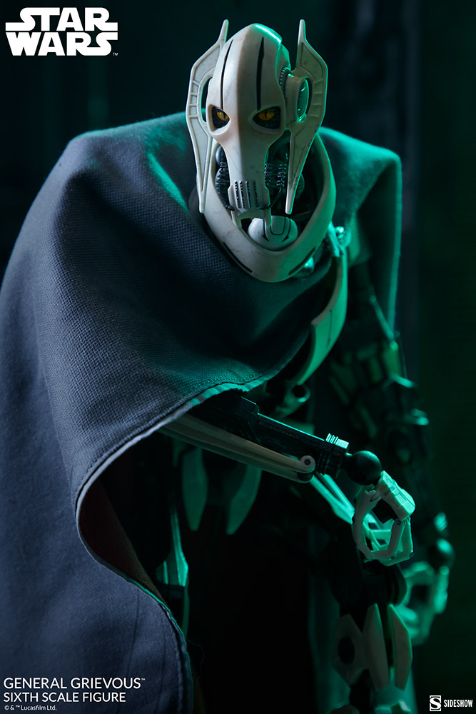 Pre-Order Sideshow Star Wars General Grievous 1:6th Figure