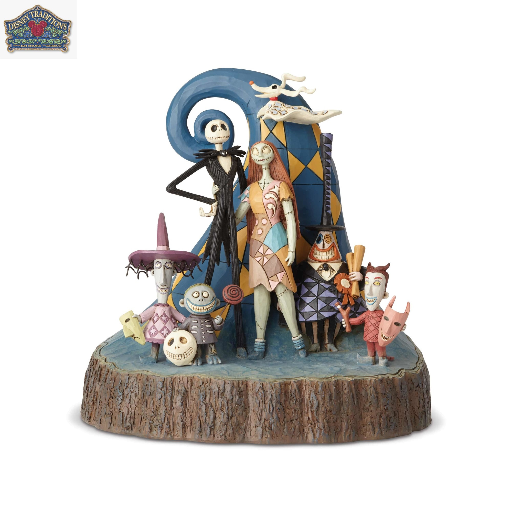 Disney Nightmare Before Christmas Carved by Heart Statue